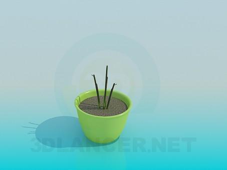 3d моделирование Растение модель скачать бесплатно