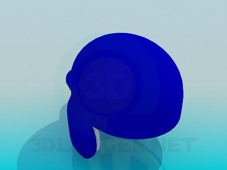 modelo 3D Cap - escuchar