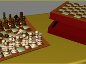 Chess (chess box + checkerboard)