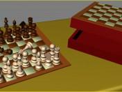 Шахи (шахова коробка + шахівниця)