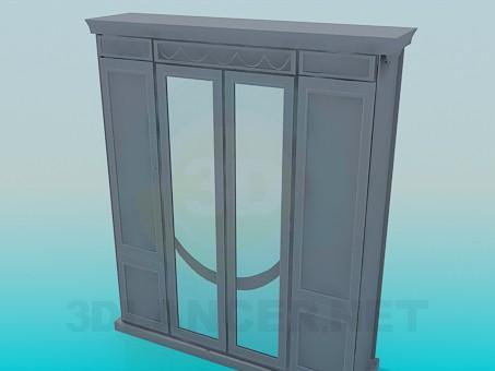 3d модель Шкаф гардеробный – превью