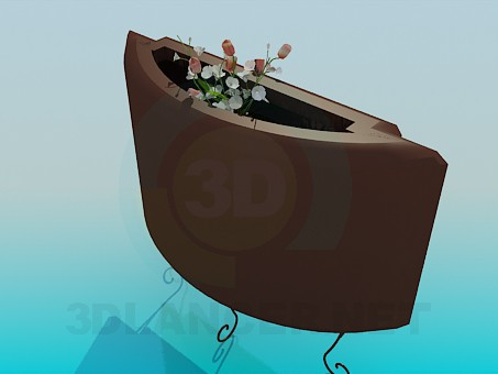 3d model Stand the flowers - preview