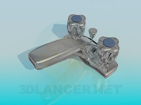 3d модель Кран для умивальника – превью