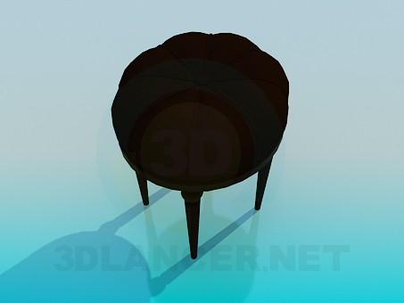 descarga gratuita de 3D modelado modelo Taburete suave