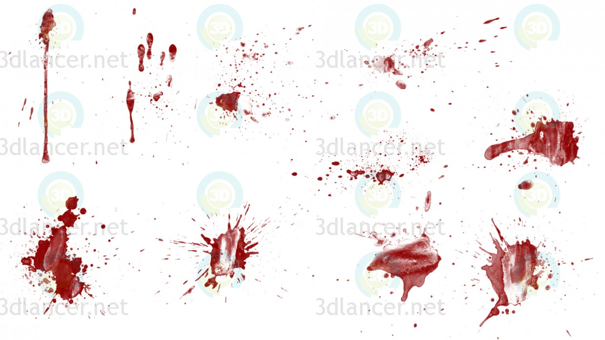 Texture Traces of blood free download - image