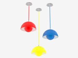 Lamp ceiling Flower pot Vitra-288-4