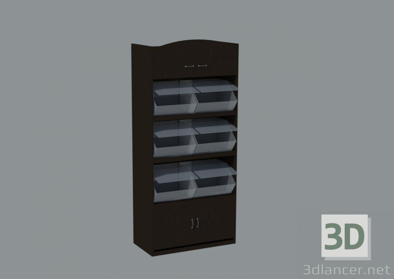 3D Fındık rafları modeli satın - render