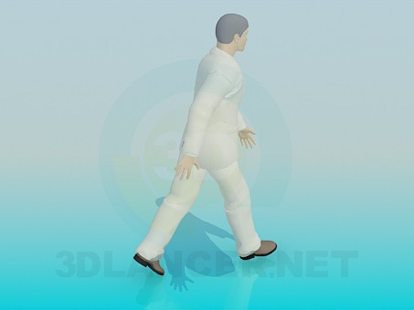 3d model The walking man - preview