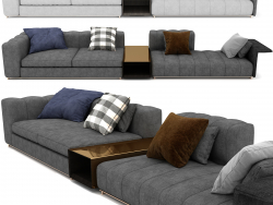 Freeman Sofa By Minotti