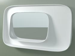 Espelho com prateleira (sx, L 80, H 48 cm)