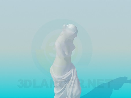3d modeling Venus de Milo model free download