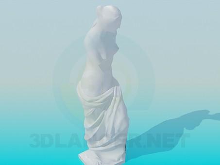 3d model Venus de Milo - preview