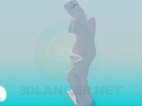 3d модель Венера Милосская – превью