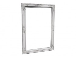 Mirror Barock Shining White 104x74