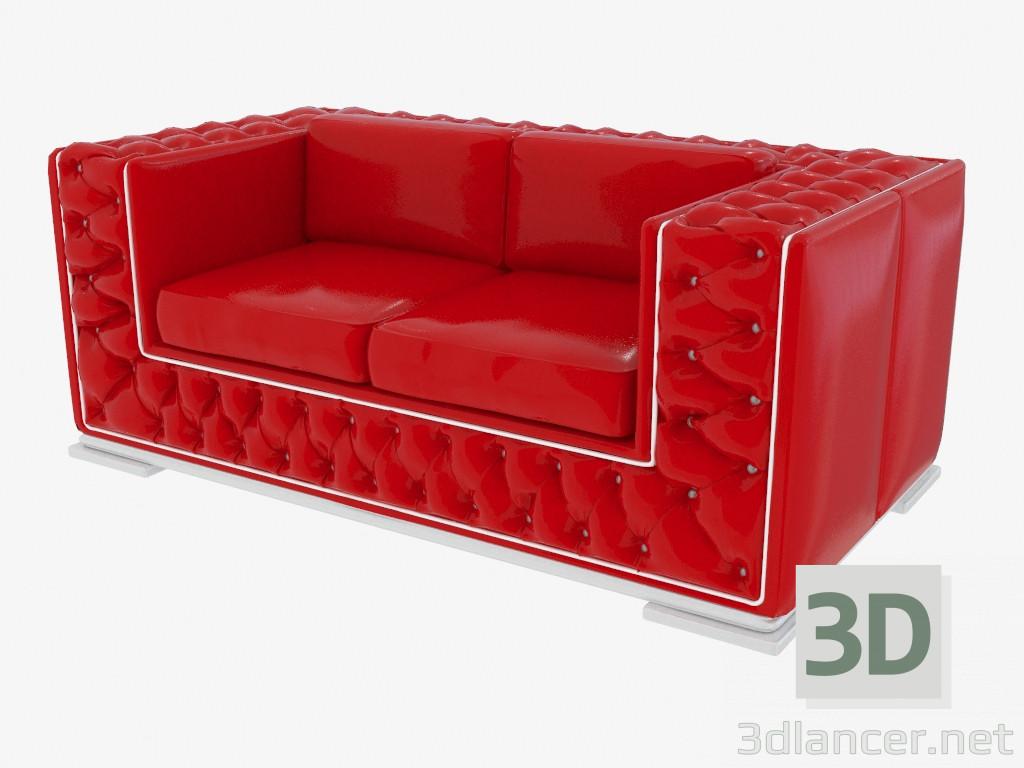 3d modell modernes ledersofa 42402 vom hersteller modenese gastone living rooms id 19075. Black Bedroom Furniture Sets. Home Design Ideas