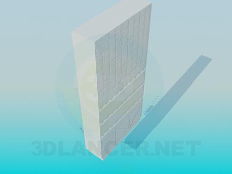 3d модель Шкаф для Вина – превью