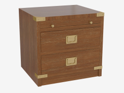 Drawer with two drawers
