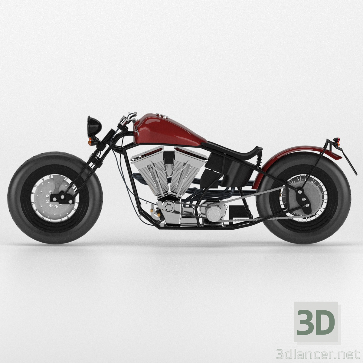 3d Motorcycle Zero Engineering type 9 model buy - render