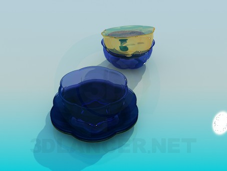 3d model Cookware salad - preview