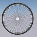 3 डी साइकिल का पहिया मॉडल खरीद - रेंडर