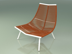 Leisure chair with high back 002 (Metal Milk)
