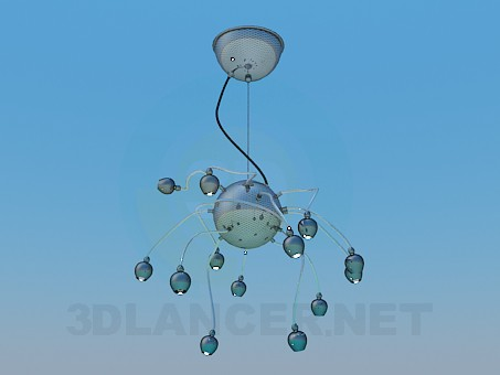 3d modeling Chandelier High Poly model free download