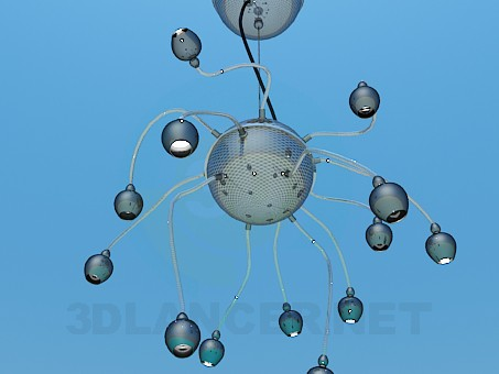 3d model Chandelier High Poly - preview