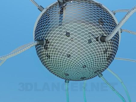 modelo 3D Lámpara alta poli - escuchar