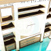 3d модель Стеллаж в гостинную – превью