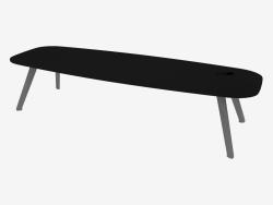 Coffee table (Black Fenix 120x40x30)
