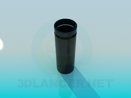 3d model Dustbin - preview