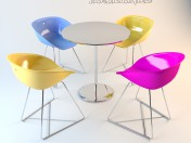 Candy Shop Table Chair Set
