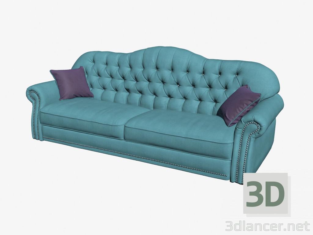 3d model Double sofa Royal,Costa Bella max(2013), - Free