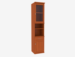The bookcase is narrow (9731-11)