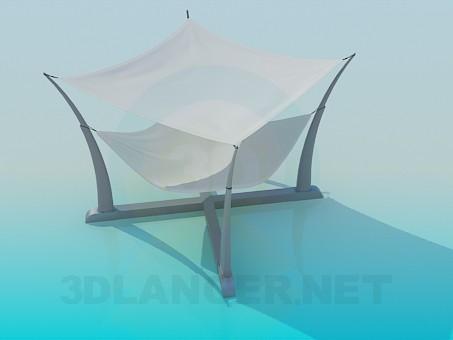 modelo 3D Soporte para revistas - escuchar