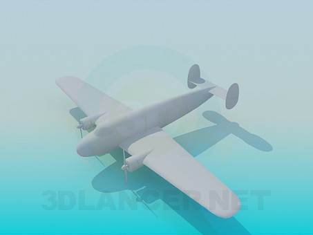 3d modeling Aircraft model free download