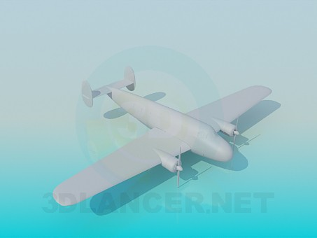 3d model Aircraft - preview