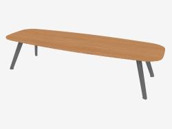 Table basse (chêne 120x40x30)