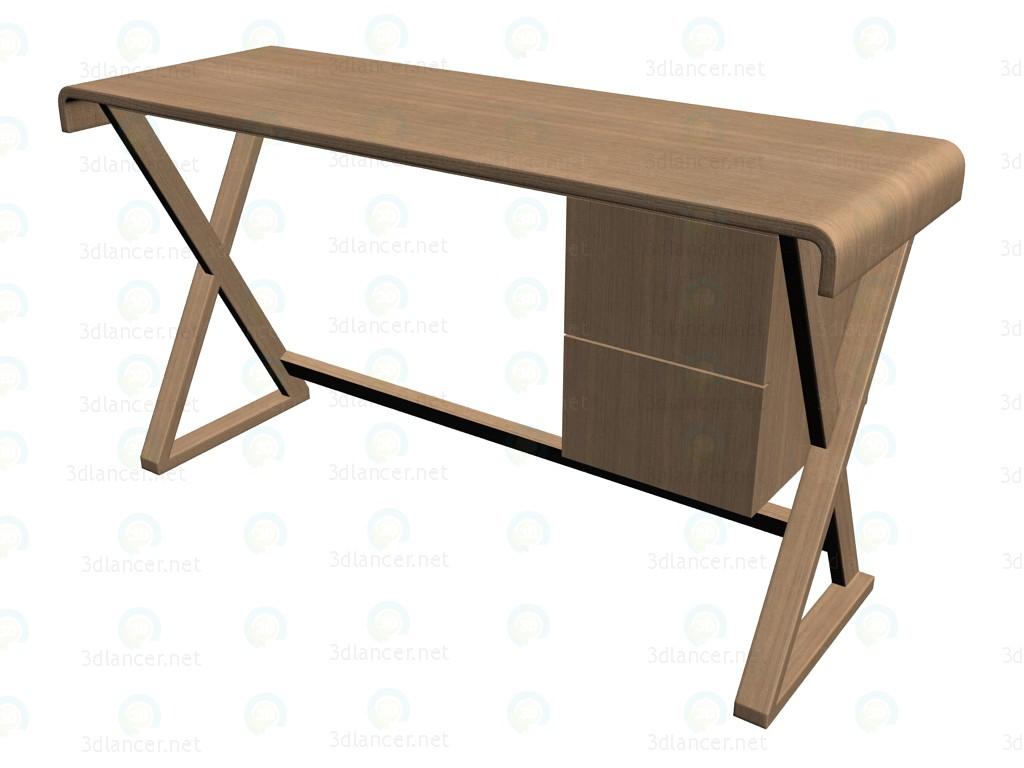 3d modell schreibtisch smsc13 vom hersteller b b italia for Schreibtisch 3d modell