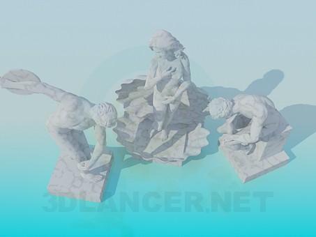 3d модель Скульптура – превью