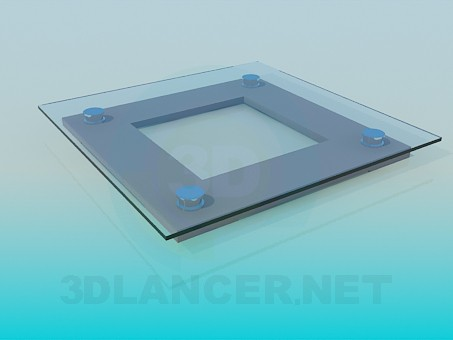 3d model Electronic balance - preview
