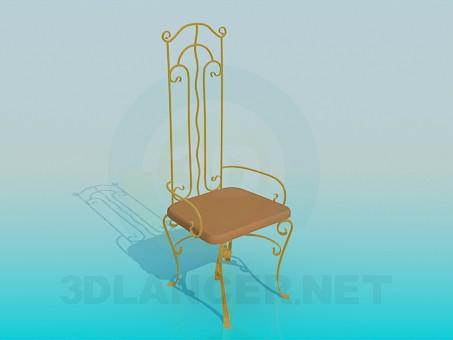 descarga gratuita de 3D modelado modelo Forja de silla