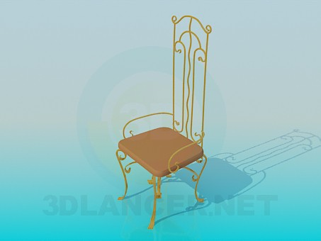 modelo 3D Forja de silla - escuchar