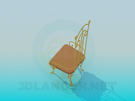 3d model Chair forging - preview