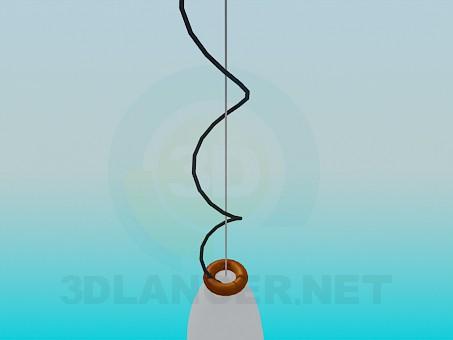 descarga gratuita de 3D modelado modelo Lámpara colgante
