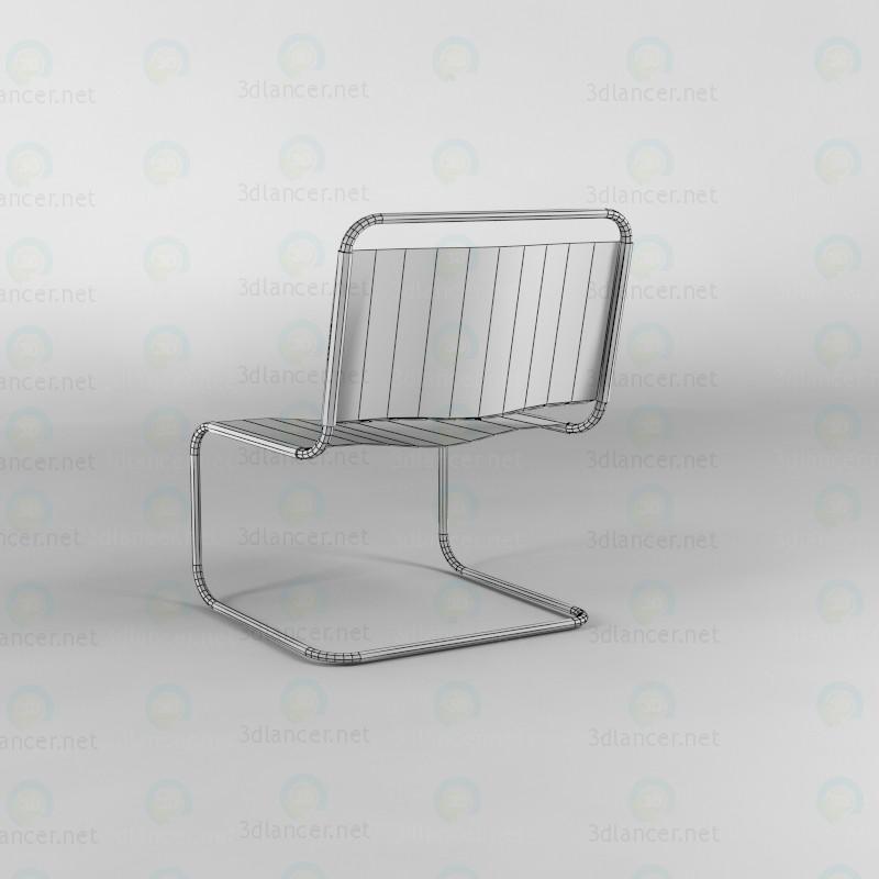 3d Стул для офиса модель купить - ракурс