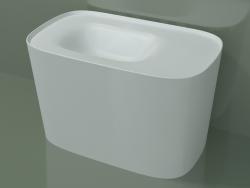 Vasque à poser (sx, L 80, P 48, H 50 cm)