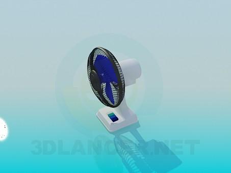 3d модель Настольный вентилятор – превью