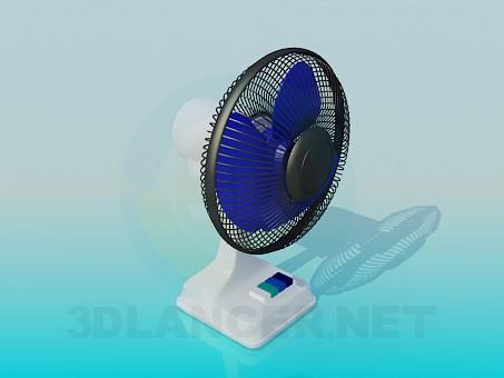 modelo 3D Ventilador de mesa - escuchar