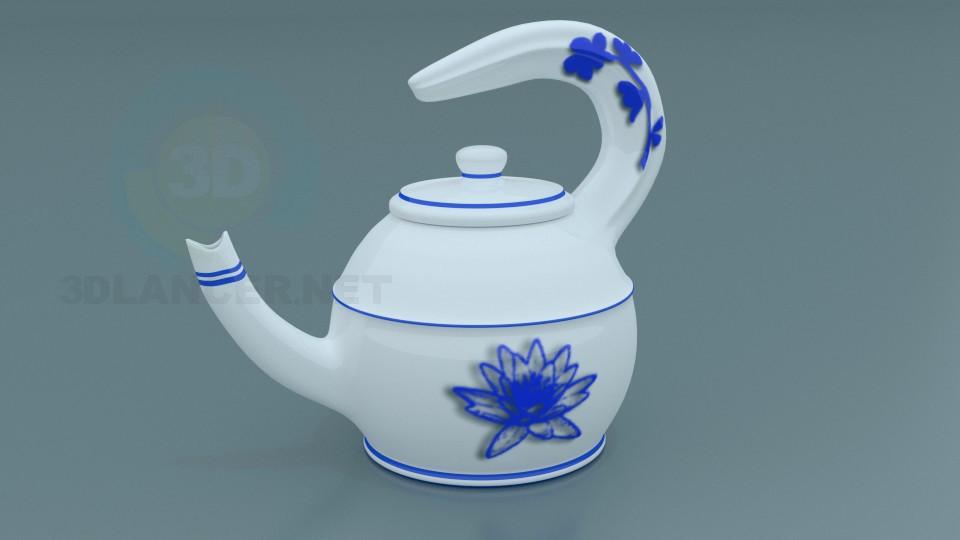 Teapot3 model ücretsiz 3D modelleme indir